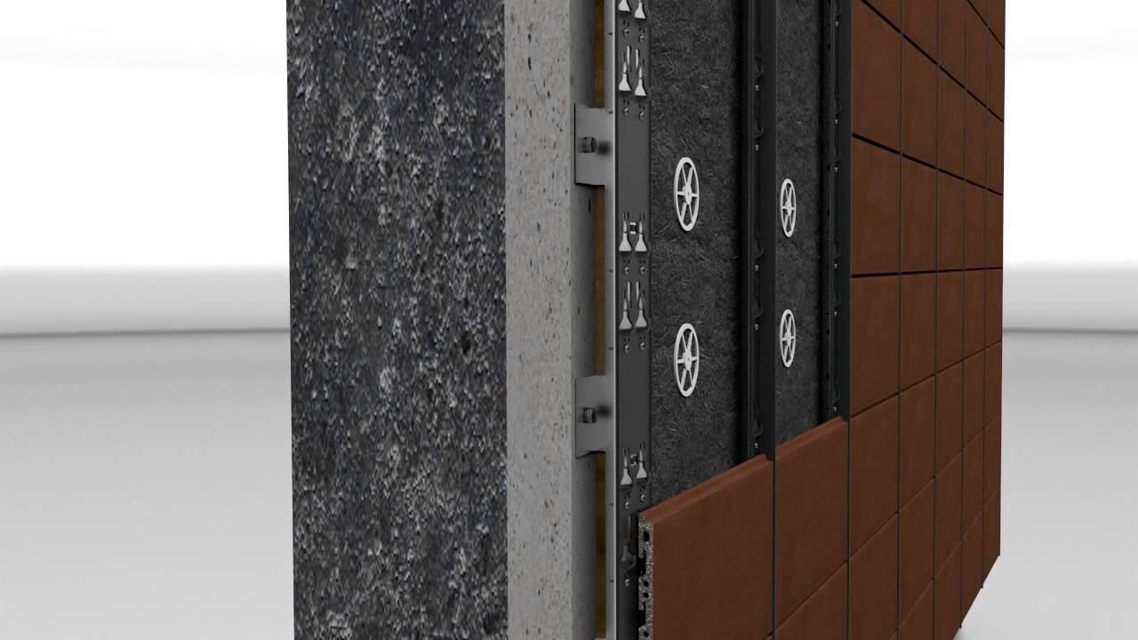 aluflor ceramic ventilated fa ade. Black Bedroom Furniture Sets. Home Design Ideas