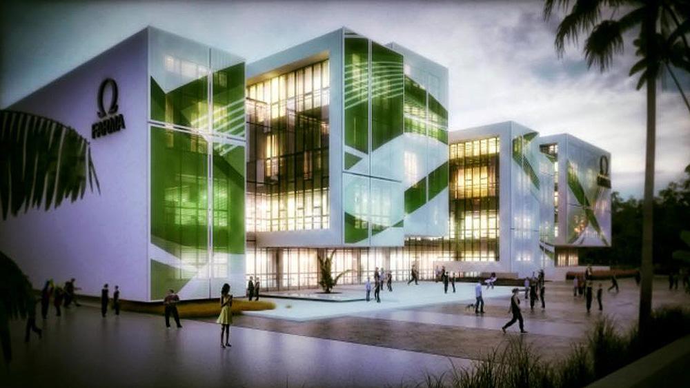 """""""Omegapharma"""", Ndërtesa e parë me certifikim LEED nëShqiperi"""